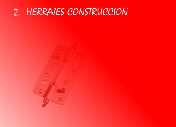 Herrajes construcción