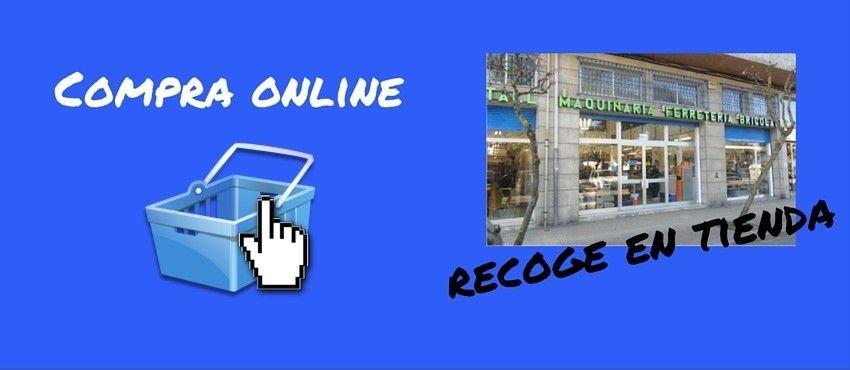 Compra online. Recoge en tienda